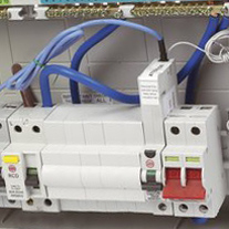 Electrical services from qualified electrician in the Yateley area